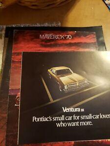 1971 Pontiac Ventura Brochure