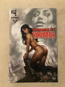 VENGEANCE OF VAMPIRELLA #4 NM- 9.2 LUCIO PARRILLO COVER