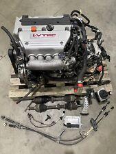 06-11 Civic Si K20z3 Engine Swap 6 Speed Lsd Transmission 119K K20 Motor Swap Si