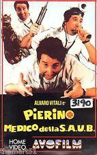 Pierino medico della Saub (1982) VHS  AVO Film Video    Alvaro Vitali