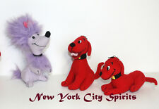 "Clifford the Big Red Dog and His Friend Cleo Plush 5""  3 Pieces Set"