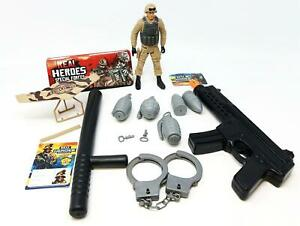 Boys Army Role Play Accessories Friction Gun 15Pcs Set