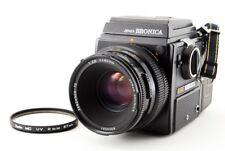 Bronica Sq-A 6x6 Medium Format Camera w/ Zenzanon-Ps 80mm f/2.8 #208726
