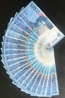 1,000,000 INDONESIA RUPIAH (IDR) CURRENCY - 50,000 IDR Notes, Fast Shipping