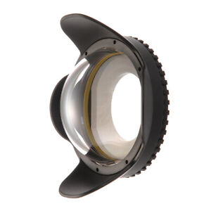 Meikon 67mm 197ft Dive Fisheye Wide Angle Lens for M67 Underwater Housing Case