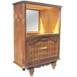 French Art Deco Bar / Display Cabinets / Sideboard Macassar Ebony AS IS.