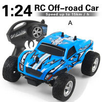 K24 1/24 2.4G 2WD High Speed RC Racing Car Radio Remote Control Four Wheels Toy