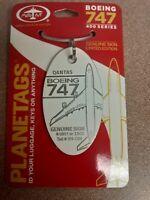 Boeing 747 Qantas VH-OJN Aircraft SkinPlane Tag / Planetags