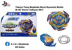 Takara Tomy B-187 Saber / Savior Valkyrie SH-7 Beyblade (US Seller) Ready Stock