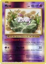 Mew 53/108 Evolutions Reverse Holo Mint Pokemon Card
