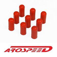 "x10 AROSPEED RED 10MM / 3/8"" HIGH STRENGTH SILICONE VACUUM CAPS PLUGS"