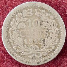 Países Bajos 10 centavos 1913 (D2004)
