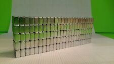 "100 Scrap NEODYMIUM Hard Drive Magnets. Strong Rare Earth 1/2 × 3/8 × 1/4"""