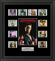 Commando Framed 35mm Film Cell Memorabilia Filmcells Movie Cell Presentation