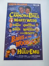 More details for cannon & ball john inman barbara windsor london palladium pantomime poster 1987