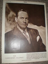 Photo article actor Fredric March 1948 rf K