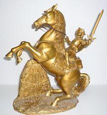 Legend of Zelda Statue Figur Gold Nintendo Club #3554 NEU Sammler