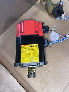 FANUC  AC Servo Motor  A06B-0115-B075 #0008   USED