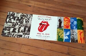 Collectible Exile on Main Street Rolling Stones original lithograph Poster