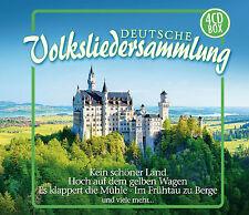 CD Deutsche (Allemands) Collection de chansons folkloriques d'Artistes divers