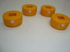 JCB pièces en plastique 3CX Régleur pads pour jack Jambe Stabilisateur ensemble de quatre