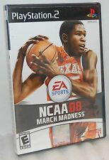 SEALED NEW PlayStation 2 NCAA 08 March Madness Video Game Basketball ps2 2008