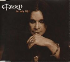 OZZY OSBOURNE In my Life  RARE 3  TRACK CD