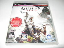 Assassin's Creed III 3 for Playstation 3 console system PS3 Great Condtion 2012