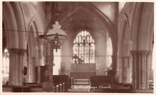 Northamptonshire - ROTHERSTHORPE, Church Interior - Real Photo