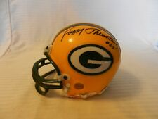 Fuzzy Thurston #63 Green Bay Packers Signed Mini Helmet