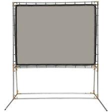Carl's Rear Projection Film, 4:3, 6.75x9, FreeStanding Projector Screen Kit,Gray