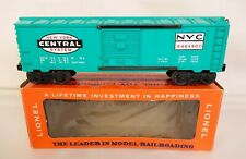 LIONEL POSTWAR #6464-900 NEW YORK CENTRAL BOX CAR-MINT & UN-RUN IN ORIG. BOX!
