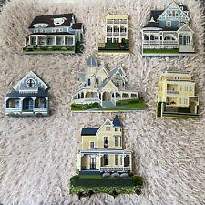 •Sheila's• Houses, Set Of 7 Eeuc