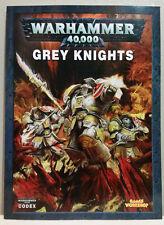 Games Workshop Warhammer 40,000 Grey Knights Codex