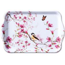 Tablett, Tray BIRD & BLOSSOM13x21cm Ambiente | Vögel, Meise