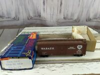 Wabash boxcar 90-052 train car boxcar postwar freight toy HO