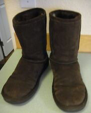 Zodiac 'Mendes' Brown Shearling Leather Winter Boot Size 8 M