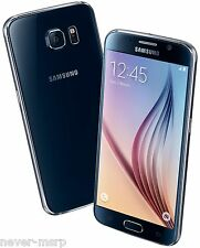 "Samsung Galaxy S6 SM-G920F Black (FACTORY UNLOCKED) 5.1"" QHD , 32GB , 3GB RAM"