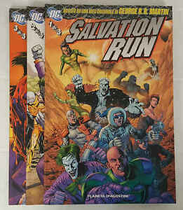 SALVATION RUN completa 3 volumi - Dc Comics - Planeta de Agostini