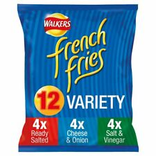 Walkers French Fries Variety Snacks 12 x 18g