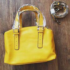 ZARA Women's Bowling Bag(Yellow, Size:M)