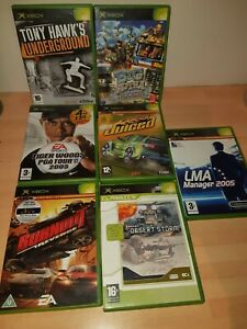 XBOX GOOD GAMES IN GOOD CONDITION - GOOD TITLES - BIG MUTHA TRUCKERS, BURNOUT