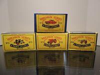 Matchbox Lesney / Special Lot / 4 X empty Repro Box style B