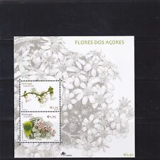 AZORES S/S FLOWERS (2002) MNH (**)