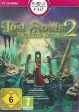PC CD-ROM + Lost Souls 2 + Enchanted Books + Abenteuer + Wimmelbild + Win 8