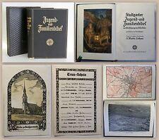 Stuttgarter Jugend- & Familienbibel 1937 Beigabe Trauschein Kirche Großpostwitz