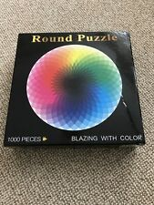 1000PCS Round Jigsaw Puzzles Blazing With Colour