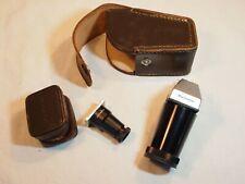 Anciens et petits accessoires optiques de visée pour MINOLTA avec étuis