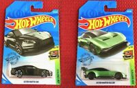 Hot Wheels Aston Martin DBS + Aston Martin Vulcan SET of 2 Cars Mattel Brand NEW