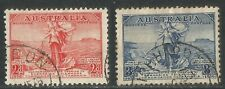 Australia 1936 Telephone Link with Tasmania-Attractive Topical (157-58) used